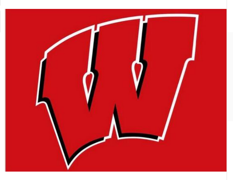 Wisconsin Badgers Flag UW Red Large 3x5 - flagsshop