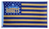Denver Nuggets Flag-3x5 Banner-100% polyester