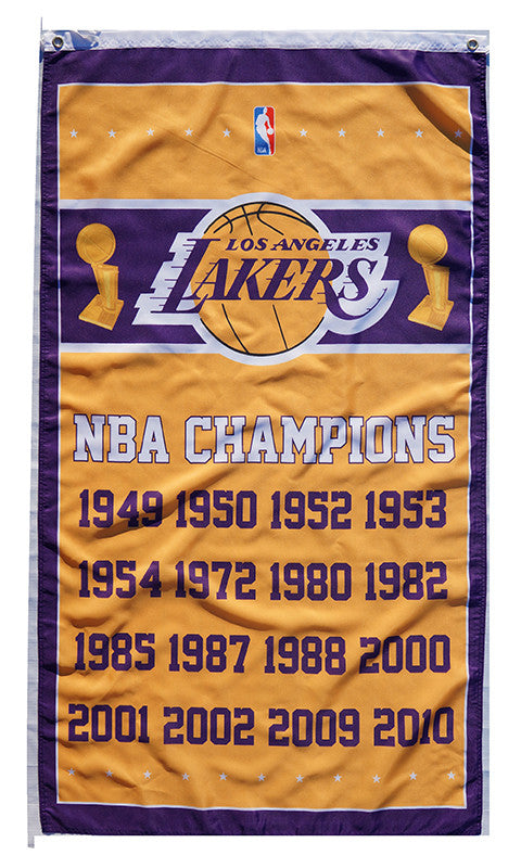 L.A. Lakers Flag-3x5 Banner-100% polyester - flagsshop