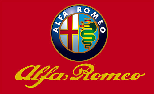 Alfa Romeo Flag-3x5 checkered Banner-Metal Grommets - flagsshop