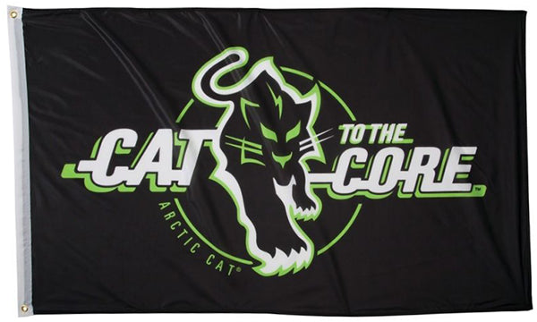 Arctic Cat Flag-3x5 FT Aircat Banner-100% polyester-2 Metal Grommets - flagsshop
