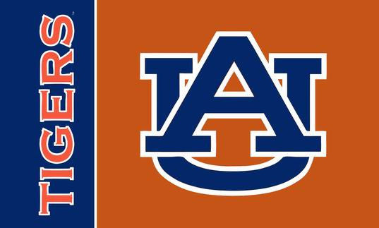 Auburn Tigers College Football Helmet Flag - flagsshop