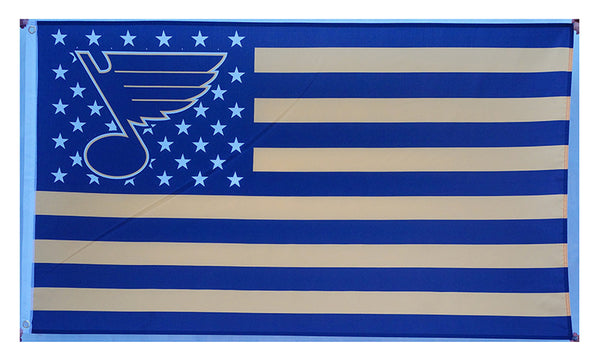 St. Louis Blues Flag-3x5 Banner-100% polyester - flagsshop