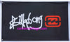 Billabong Flag-3x5 Banner-100% polyester-black - flagsshop