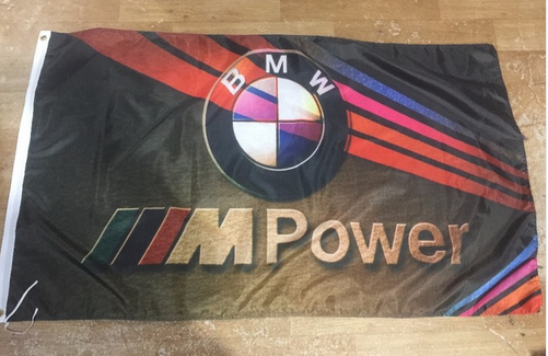 BMW flag for car racing-3x5 FT-100% polyester Banner-Vertical - flagsshop