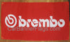 Brembo Flag-3x5 FT Banner-100% polyester-2 Metal Grommets - flagsshop