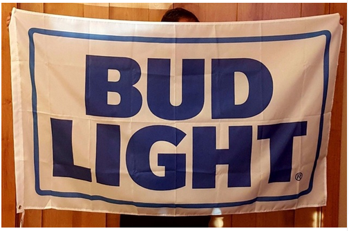 Budweiser Flag-3x5 Banner-100% polyester-bud light with can-Dilly Dilly-Saturdays are for the boys-Busch light - flagsshop