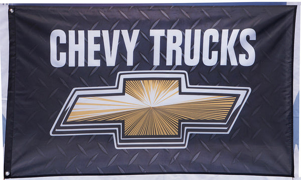 Chevrolet Chevy Trucks Flag-3x5 FT Banner - flagsshop