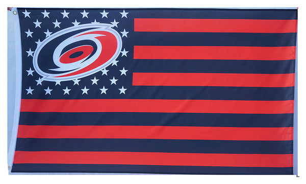 Carolina Hurricanes Flag-3x5 Banner-100% polyester - flagsshop