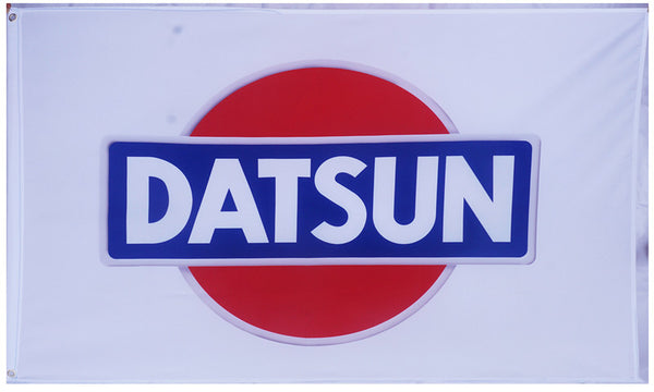Checkered Datsun Flag-3x5 Banner-Metal Grommets - flagsshop