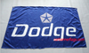 Dodge Flag-3x5 checkered banner-Viper-RAM-Trucks-Charger-Alex-Challenger-Super bee - flagsshop