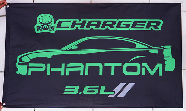Dodge Charger R/T flag for car racing-3x5 FT-100% polyester Banner - flagsshop