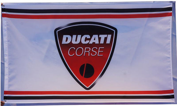 Ducati FLAG-Ducati BANNER -3x5 ft motorcycles banner - flagsshop
