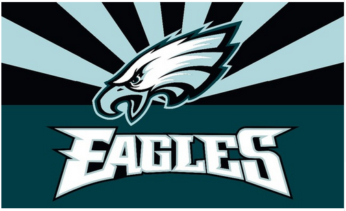 Philadelphia Eagles Flag-3x5 new NFL Philadelphia Eagles Flag Banner-100% polyester-Strips & Stars-gloves