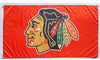 Chicago Blackhawks Flag-3x5 Banner-100% polyester - flagsshop