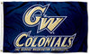 George Washington University Flag-3x5 FT GW Banner-100% polyester-2 Metal Grommets