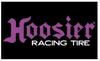 Hoosier Flags-3x5 Hoosier Race Tire Banner-100% polyester - flagsshop