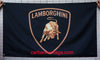 Lamborghini checkered Flag-3x5 Banner-100% polyester