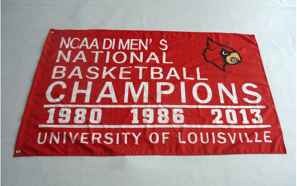 Louisville Cardinals Star Wars Flag-3x5 ft Banner -NCAA UL University Large College Flag - flagsshop