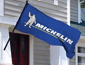 Michelin Flag-3x5 Banner-100% polyester-White - flagsshop
