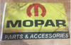 Mopar Flag-3x5 Checkered Banner-Metal Grommets - flagsshop