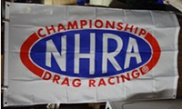 Nhra Drag Racing Championship Flag-3x5 FT Banner-100% polyester-2 Metal Grommets - flagsshop