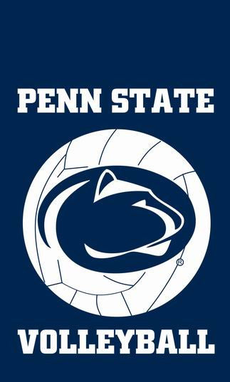 free shipping College banner Penn State University Educational institution flag,100% polyester flag,3*5 foot, NFL,NHL - flagsshop
