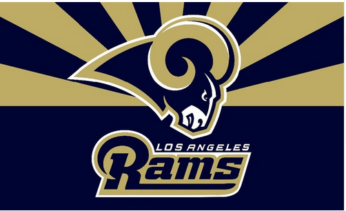St Louis Rams Flag 3x5 Nfl Los Angeles Rams Banner 100