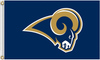 St. Louis Rams Flag-3x5 NFL Los Angeles Rams Banner-100% polyester - flagsshop