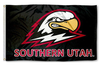 Southern Utah University Thunderbirds Flag-3x5 FT Banner-100% polyester-2 Metal Grommets