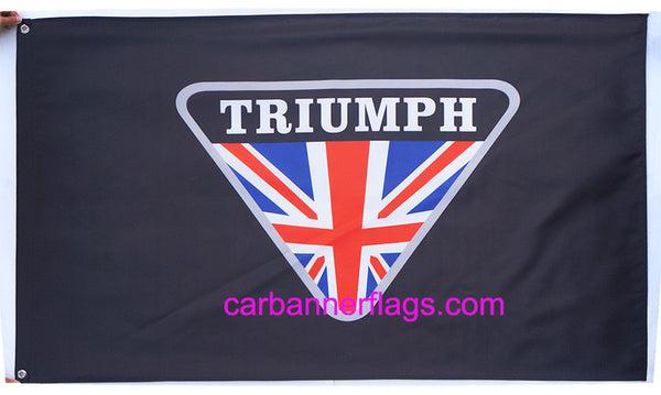 Triumph Flag-3x5 Motors Banner-100% polyester