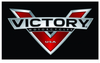 Victory Flag-3x5 FT Victory Motorcycle Banner-100% polyester-2 Metal Grommets - flagsshop