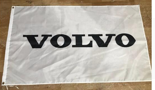Volvo Flag-Volvo Racing Flag3x5 Banner-100% polyester-black - flagsshop