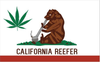 California Reefer Flag-3x5Feet -Weed Banner Flags - flagsshop