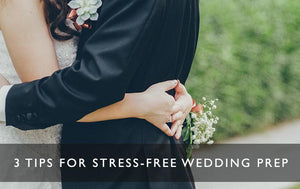 3 tips for stress-free wedding prep-Scentered