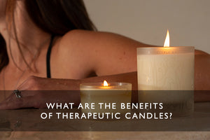 What are the benefits of therapeutic candles?