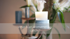 what is an aromatherapy candle?