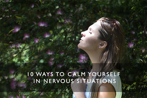 how to calm yourself
