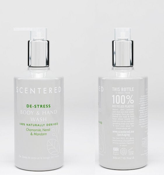 DE-STRESS Wash & Lotion duo