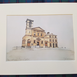 National Piping  Centre - Mounted Print