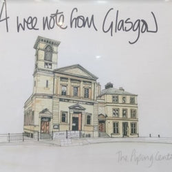National Piping Centre Greetings Card