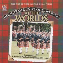 Simon Fraser University Pipe Band at the Worlds 1991-1999