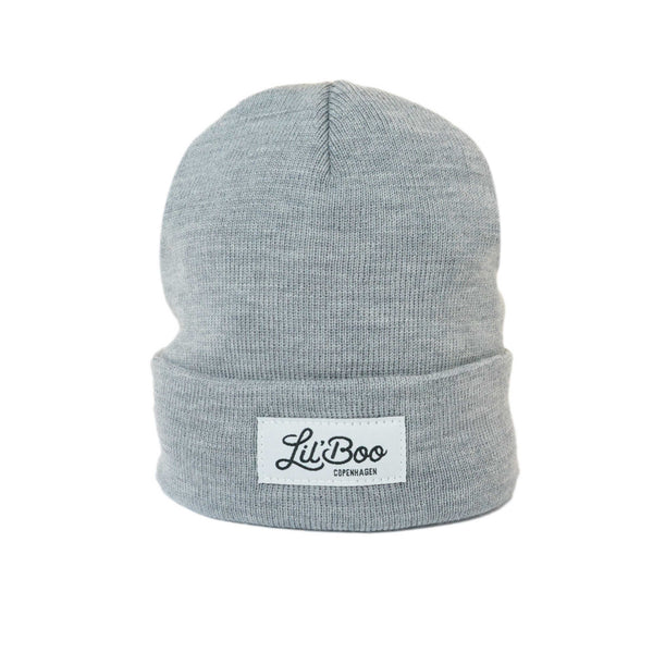 Merino Wool Beanie – Light Grey