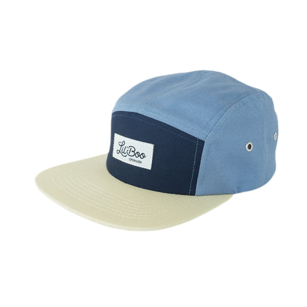 Block Dusty Blue 5 Panel (ORGANIC)
