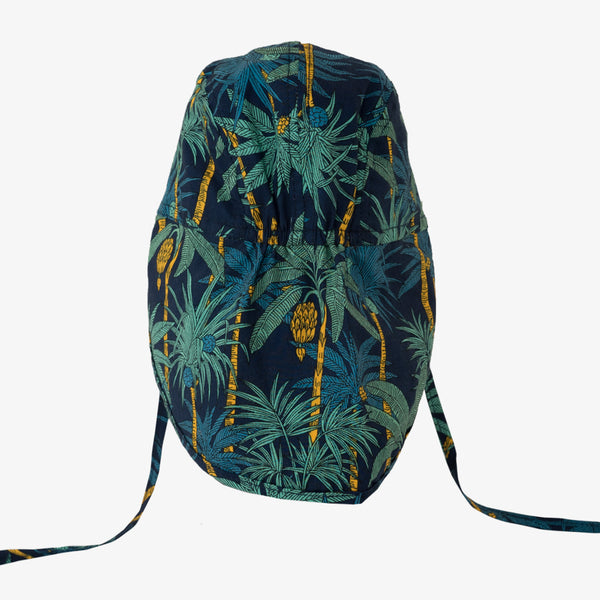 Soft Baby Sun Cap (UV) - Palm Tree Dark