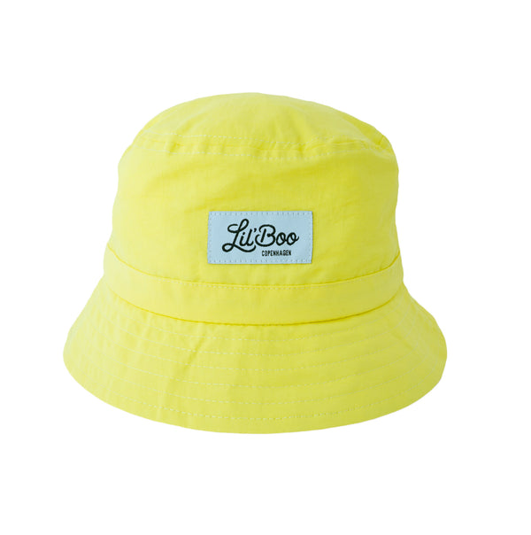 Lil' Boo Light Weight Bucket Hat - Yellow