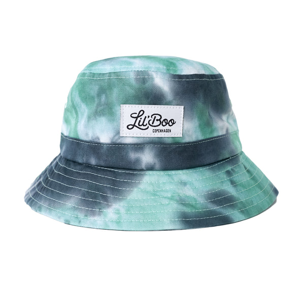 Tie Dye Bucket Hat - Green