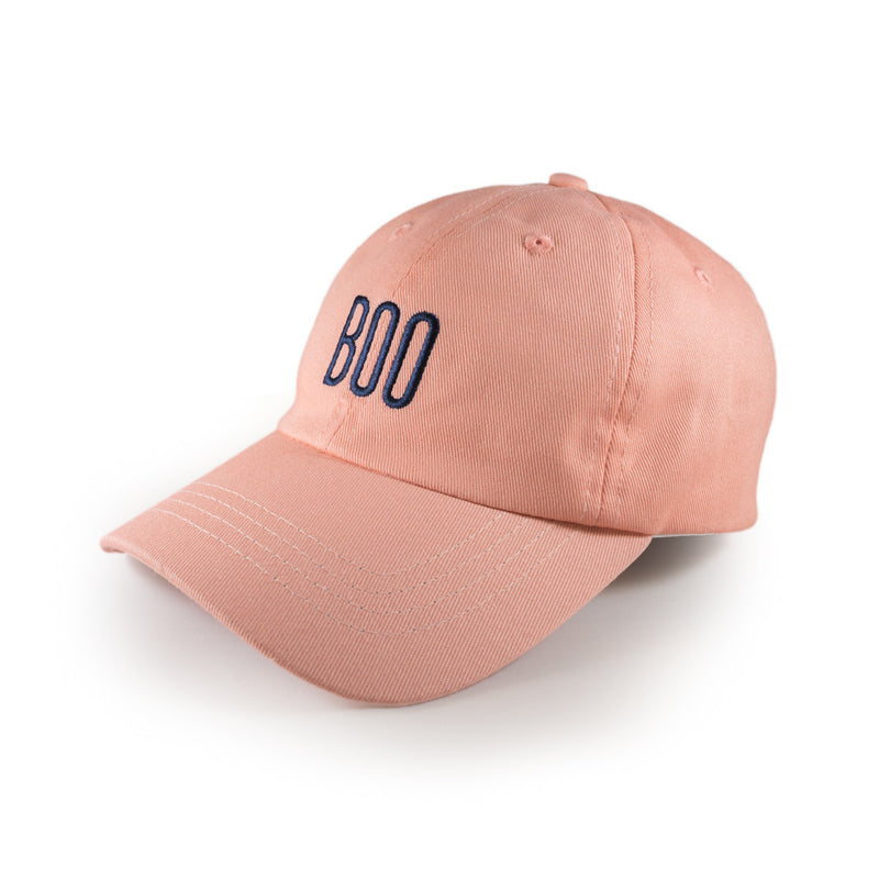 Boo Dad Cap - Peach Beige