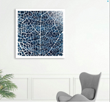 Leaf Abstract Print - wonderlina