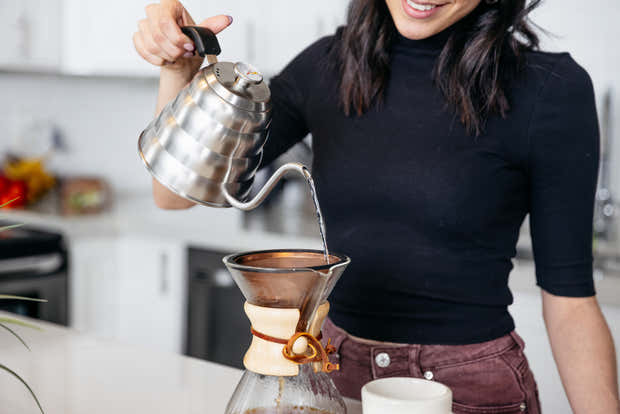 Reusable Pour Over Filter for Chemex and Hario V60 (Copper) 1